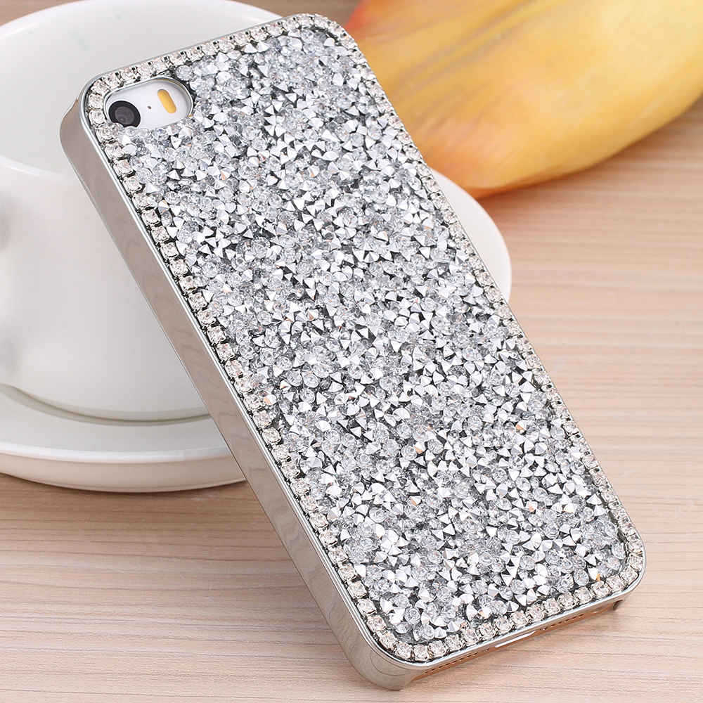 Glitter Bling Crystal Diamond Hard Back Case Cover For Apple iPhone 6s  iPhone 6s Plus iPhone 73bc4ddcd3